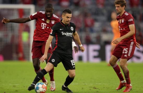 Bayern Munich Defeated Eintracht Frankfurt 1-2