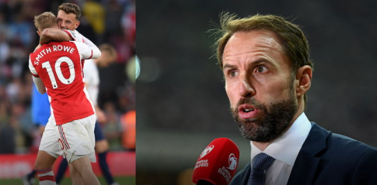 """""""Southgate"""" reveals two Arsenal players"""
