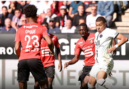 PSG misses form, attacking Rennes 2-0